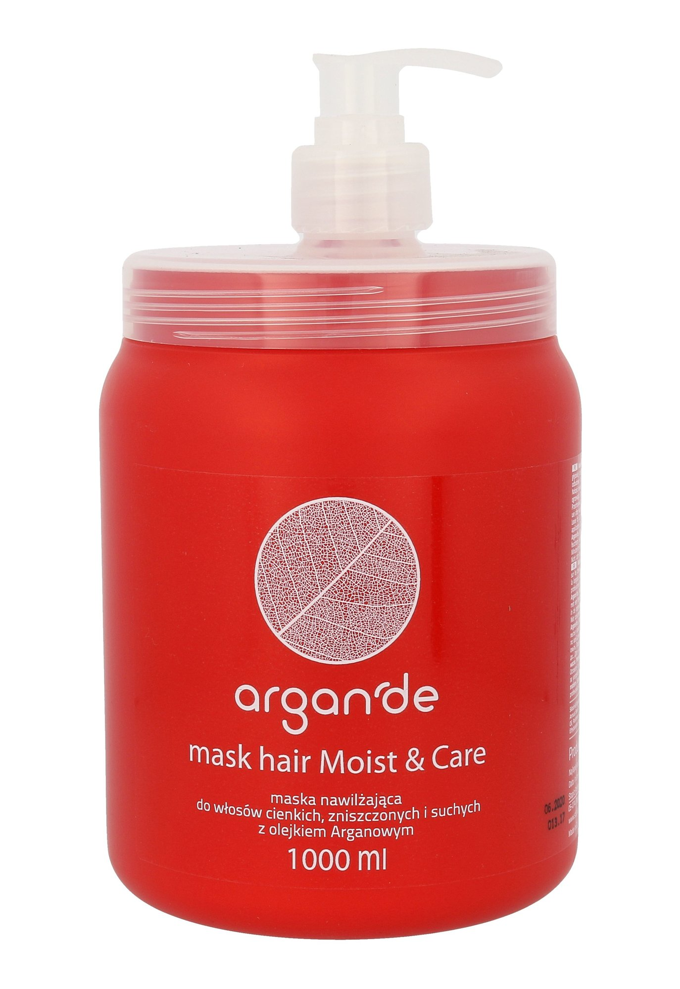 Stapiz Argan De Moist & Care Cosmetic 1000ml
