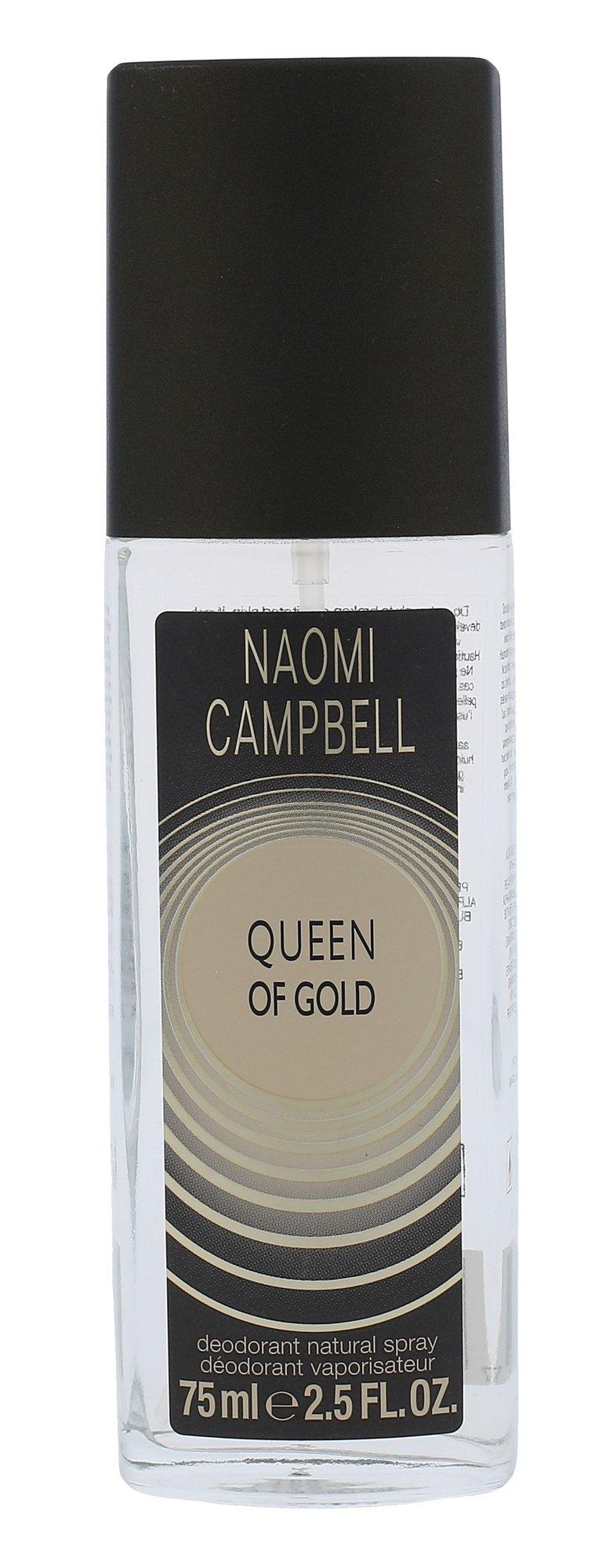 Naomi Campbell Queen Of Gold Deodorant 75ml