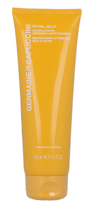 Germaine de Capuccini Royal Jelly Cosmetic 125ml  Melting Make-Up Removal Milk & Lotion