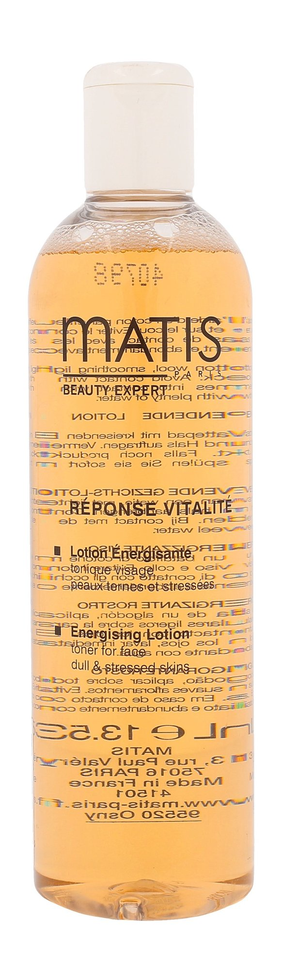 Matis Réponse Vitalité Cosmetic 400ml  Energising Lotion