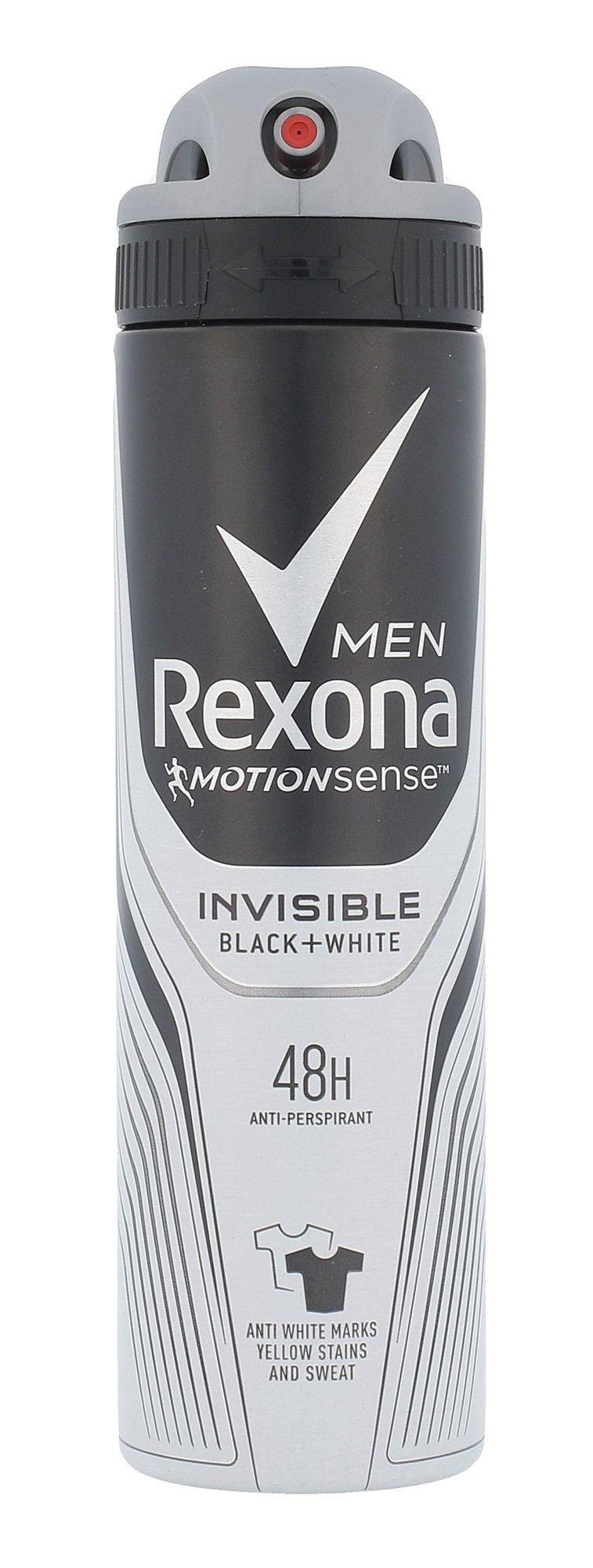 Rexona Men Cosmetic 150ml  Invisible Black + White