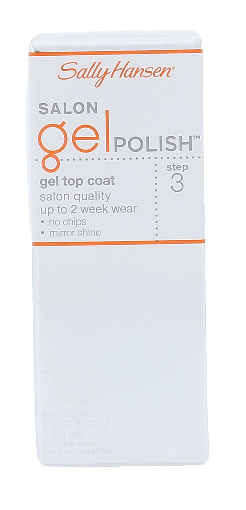 Sally Hansen Salon Gel Polish Cosmetic 4ml  Step 3