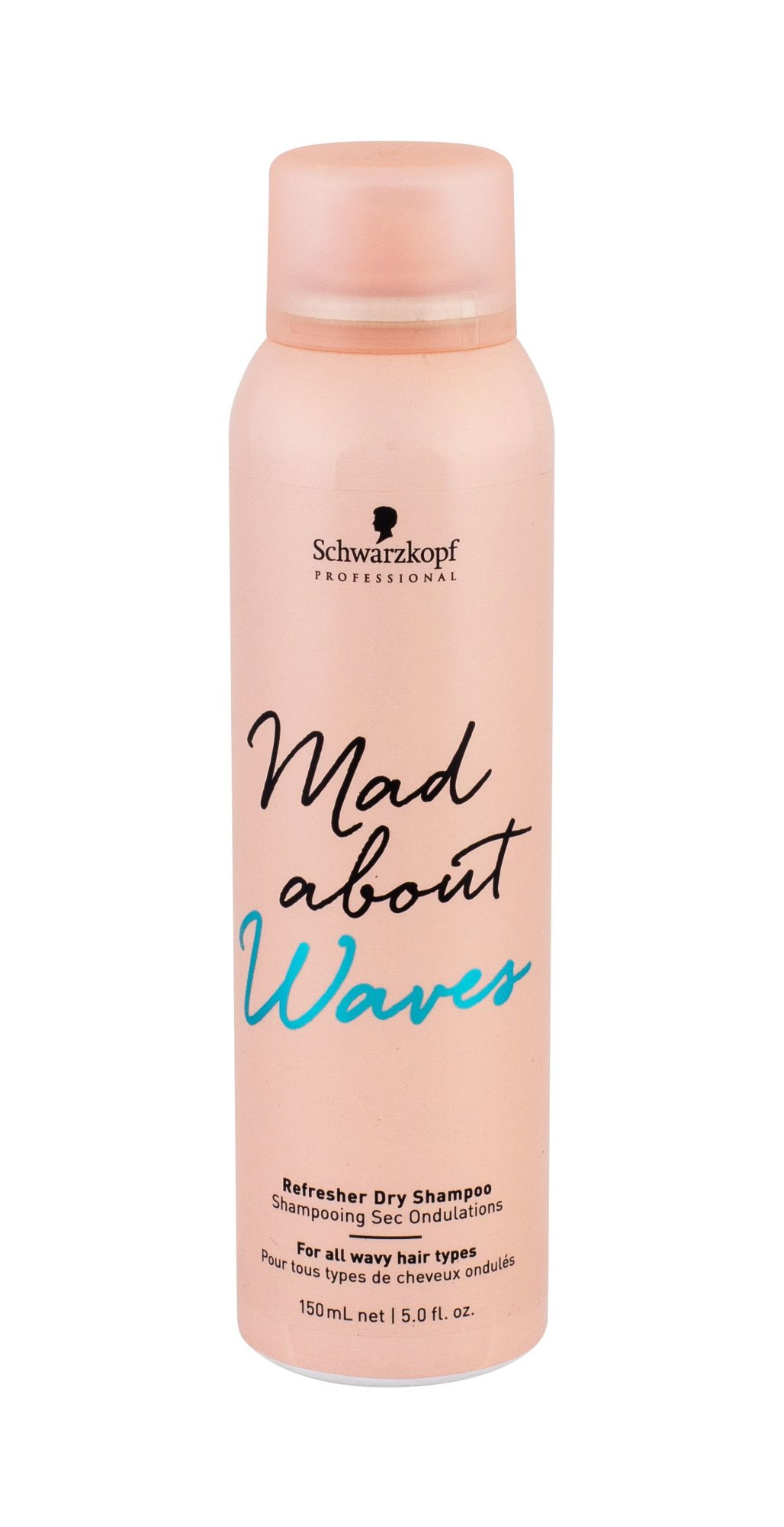 Schwarzkopf Mad About Waves Dry Shampoo 150ml