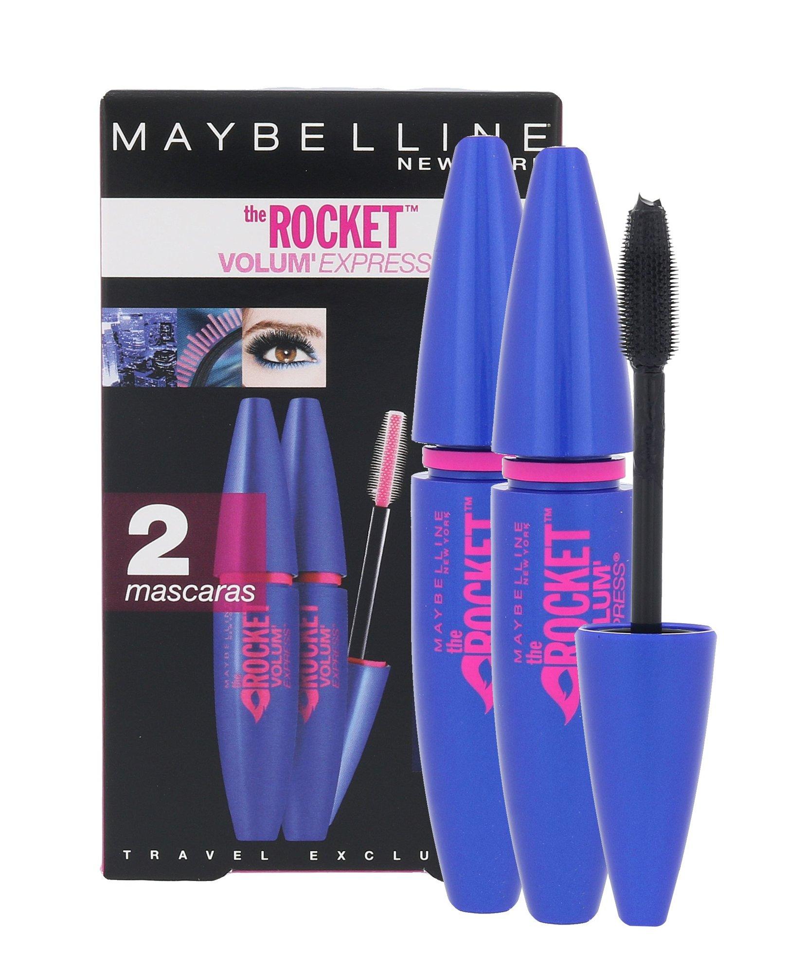 Maybelline The Rocket Volum Express Cosmetic 9,6ml Black