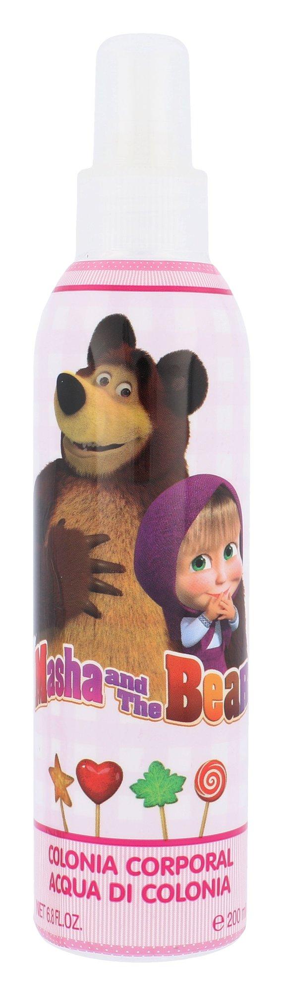 Disney Masha and The Bear Tělový spray 200ml
