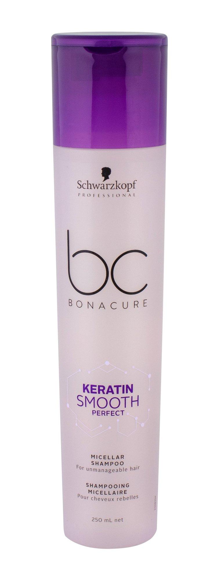Šampūnas Schwarzkopf BC Bonacure Keratin Smooth Perfect