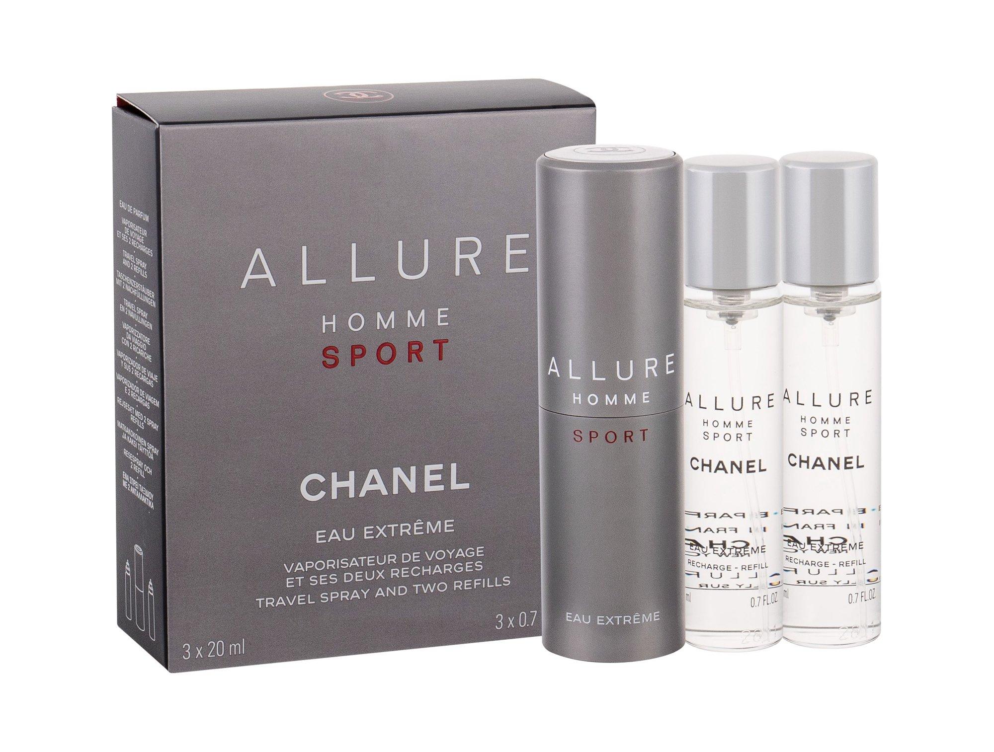 Chanel Allure Homme Sport Eau Extreme Eau de Toilette 3x20ml