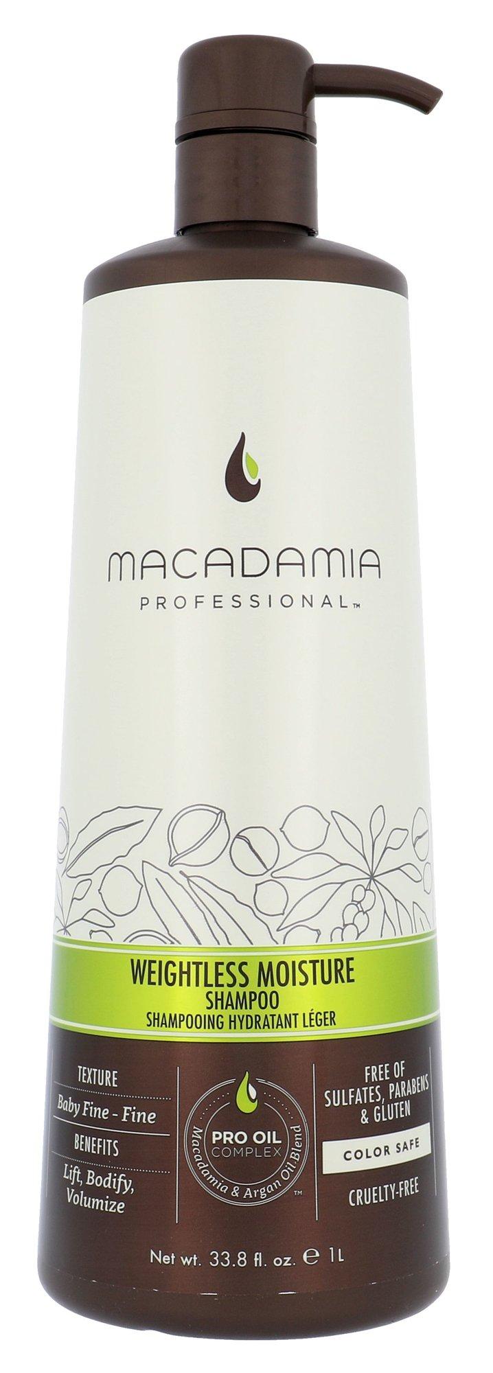Macadamia Professional Weightless Moisture Cosmetic 1000ml
