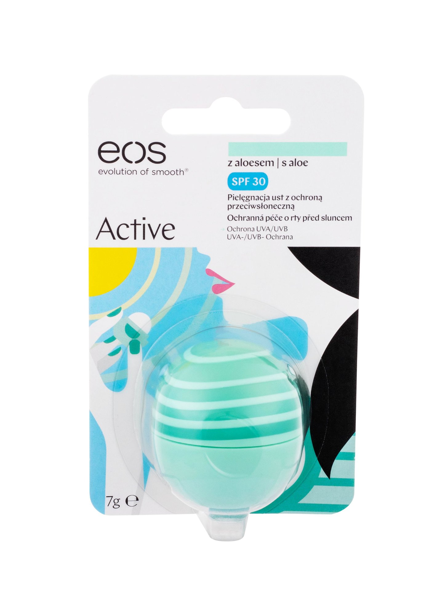 EOS Active Lip Balm 7ml Aloe