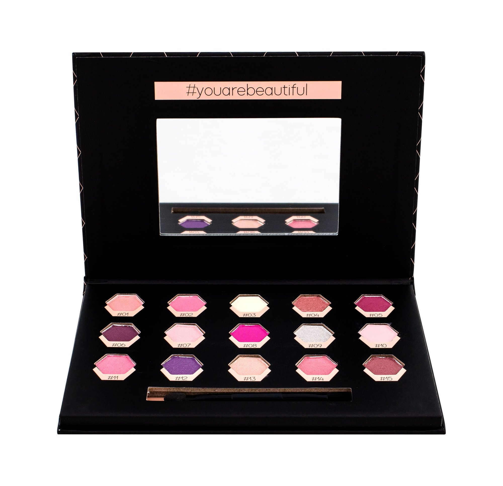 2K Polygon Eye Shadow 6,75ml Rose
