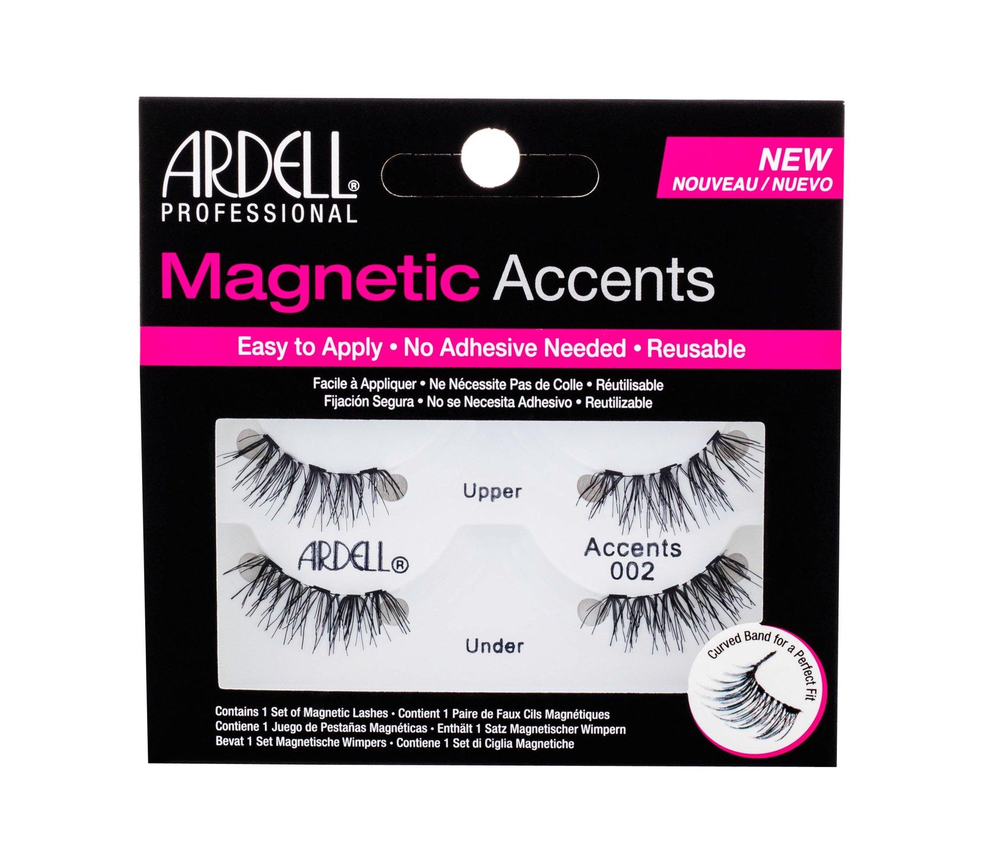 Ardell Magnetic Accents False Eyelashes 1ml Black