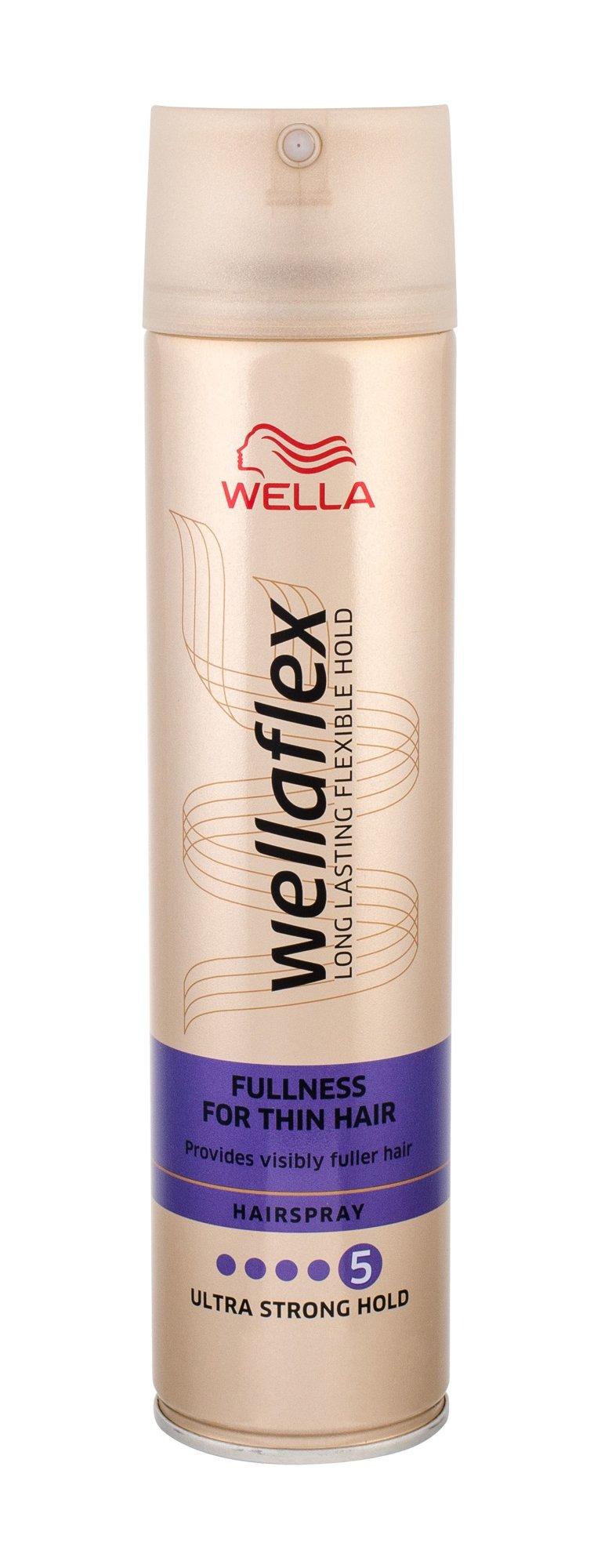 Wella Wellaflex Fullness For Thin Hair Hair Spray 250ml