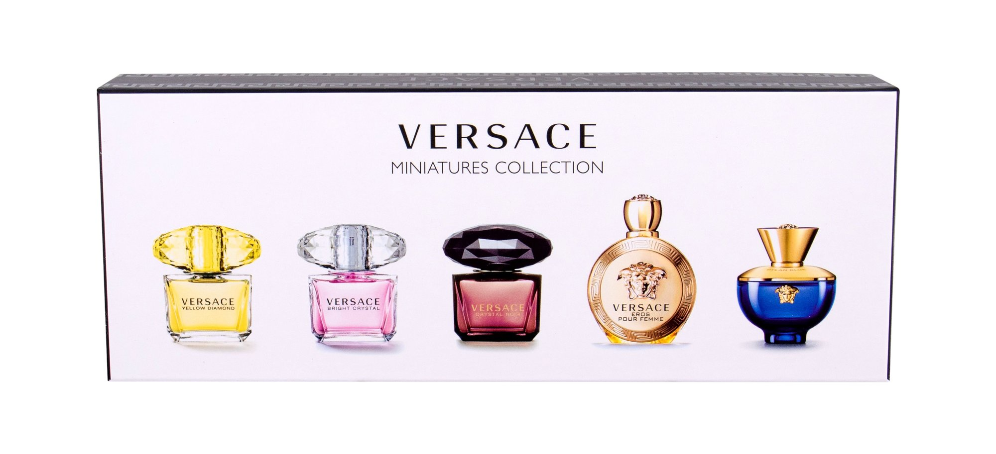 Versace Mini Set 3 Eau de Toilette 5 x 5ml