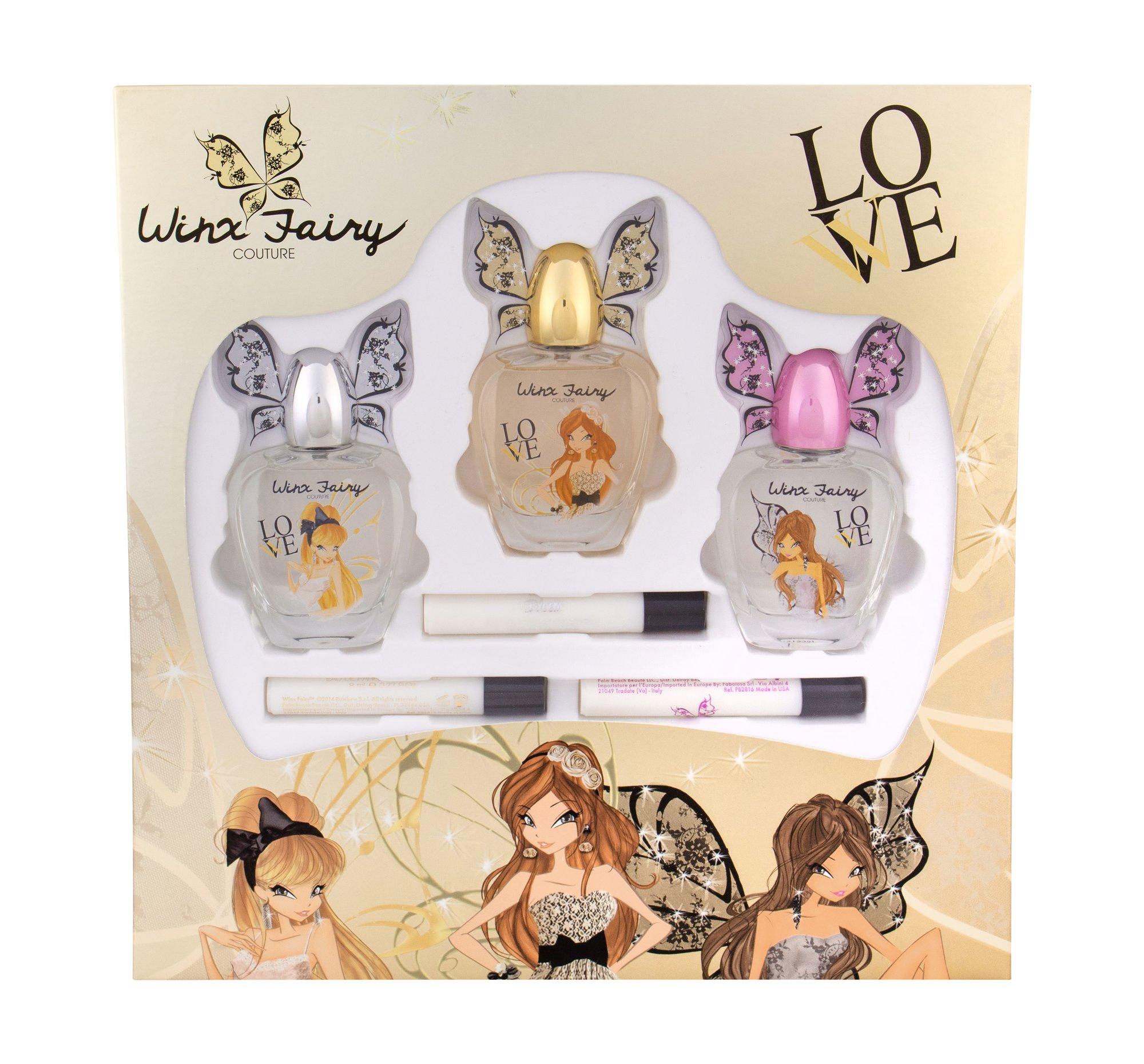 Winx Fairy Couture Collection Eau de Toilette 3x58ml
