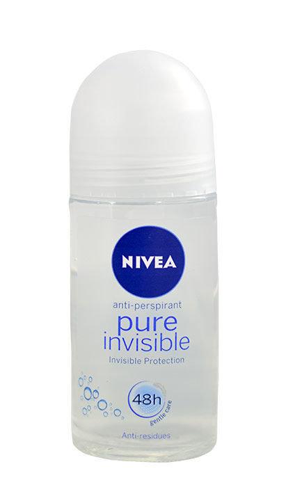 Rutulinis dezodorantas Nivea Pure Invisible