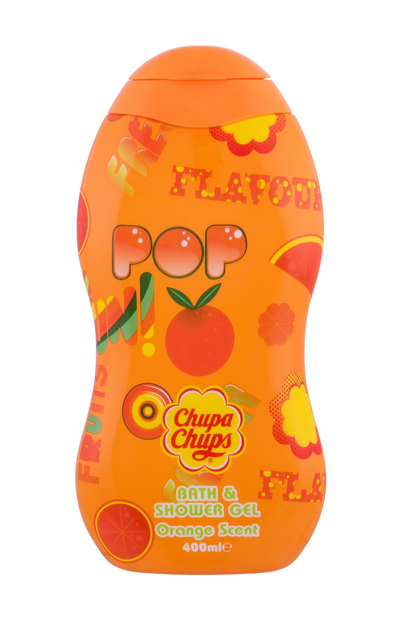 Chupa Chups Orange Scent Shower Gel 400ml