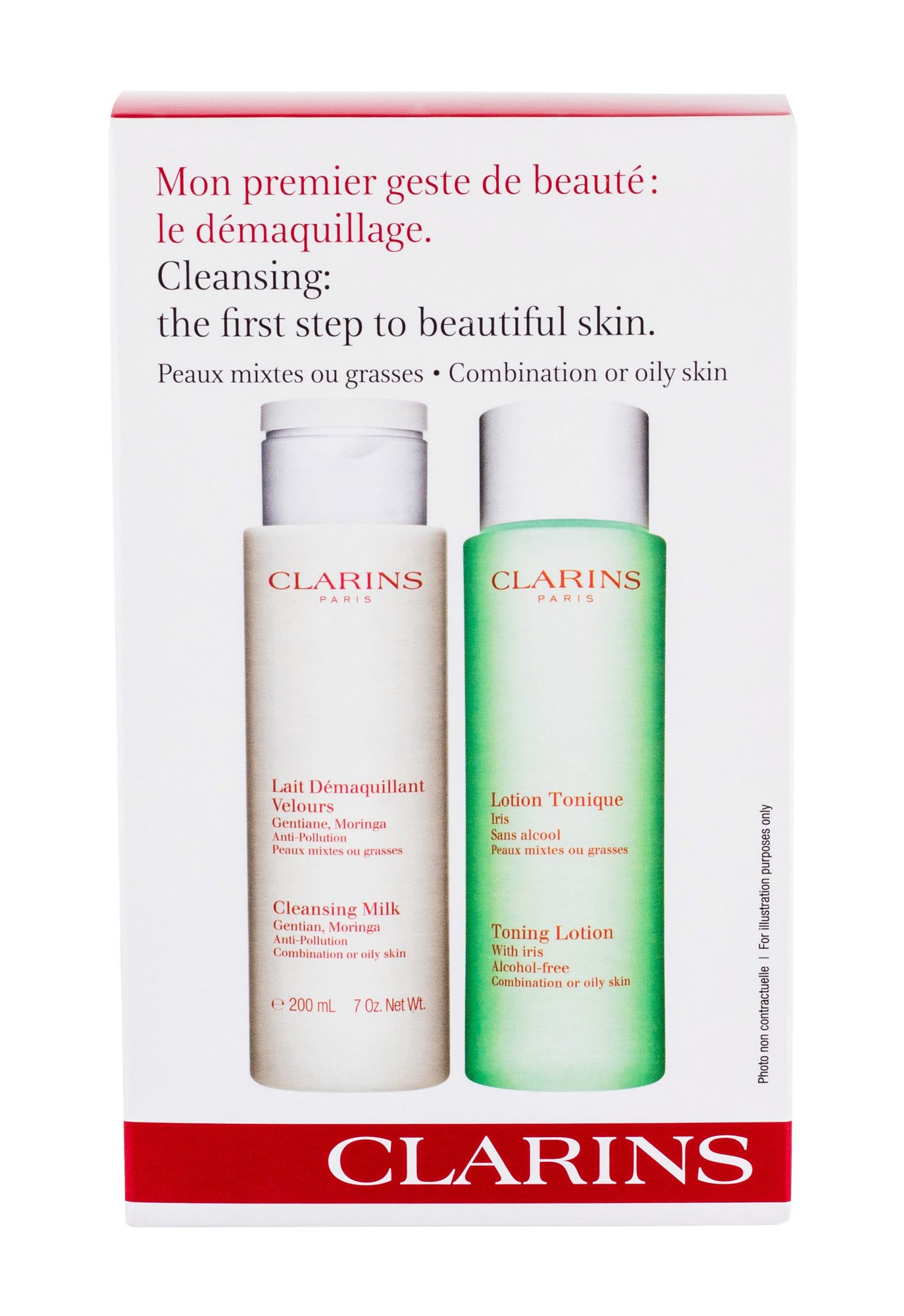 Clarins Cleansing Milk With Gentian Cleansing Milk 200ml
