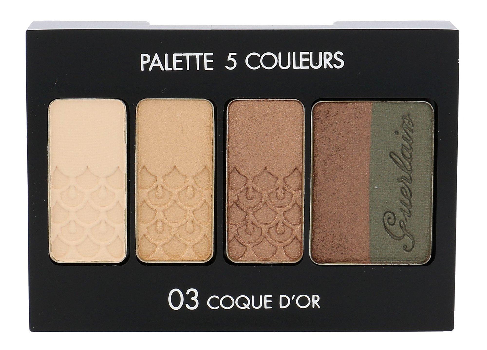 Guerlain Palette 5 Couleurs Cosmetic 6ml 03 Coque D´Or