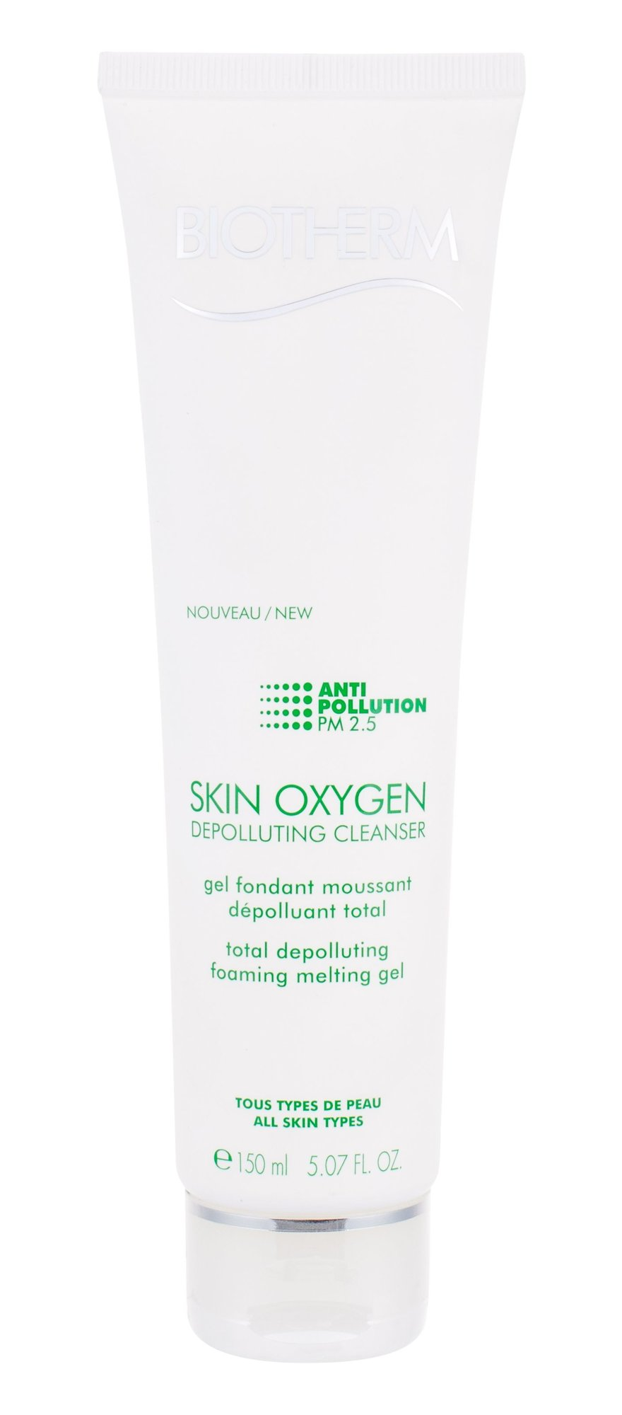 Biotherm Skin Oxygen Cosmetic 150ml  Depolluting Cleanser