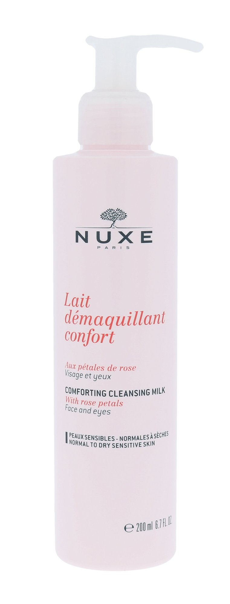 NUXE Rose Petals Cleanser Cleansing Milk 200ml