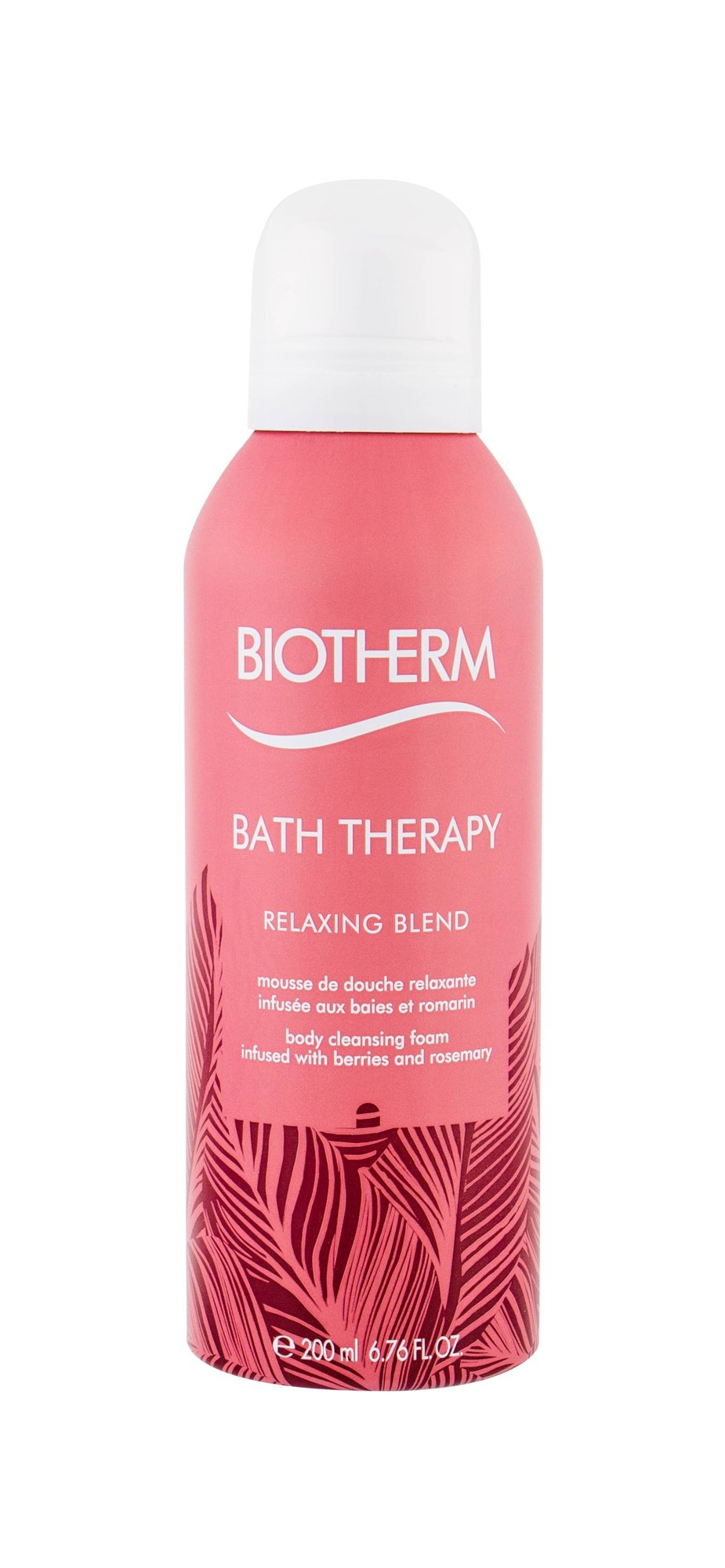 Biotherm Bath Therapy Shower Foam 200ml  Relaxing Blend