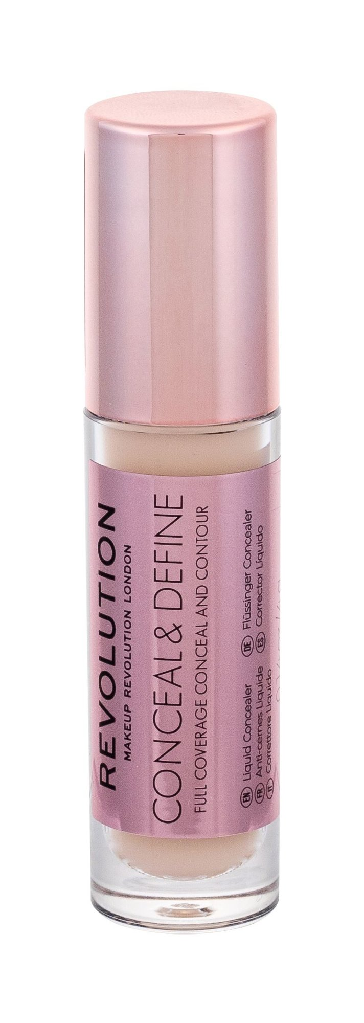 Makeup Revolution London Conceal & Define Corrector 4ml C2