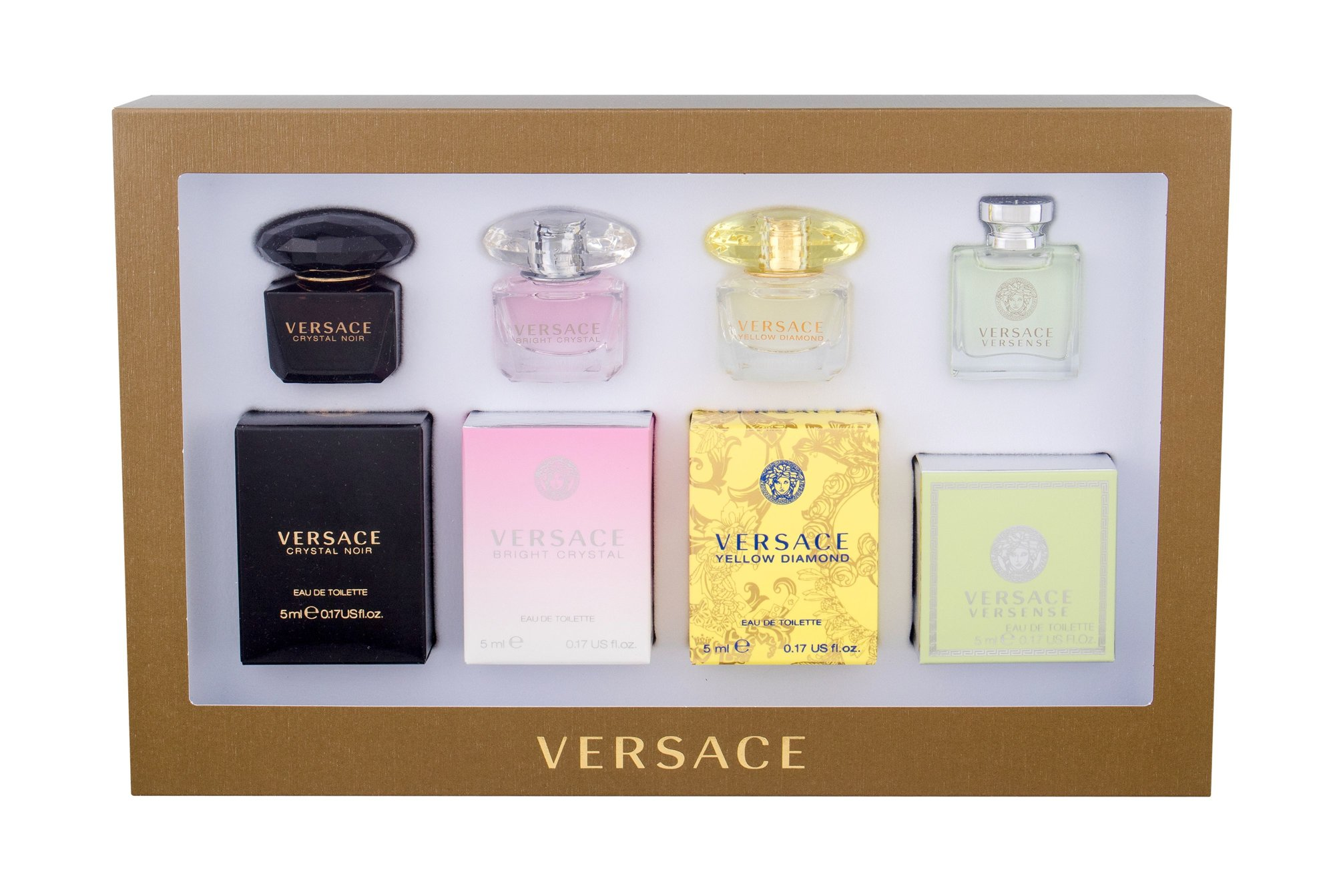 Versace Mini Set 4 Eau de Toilette 4x5ml