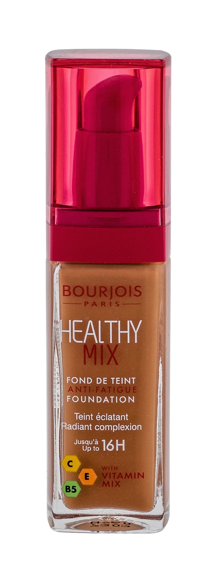 BOURJOIS Paris Healthy Mix Makeup 30ml 60 Dark Amber