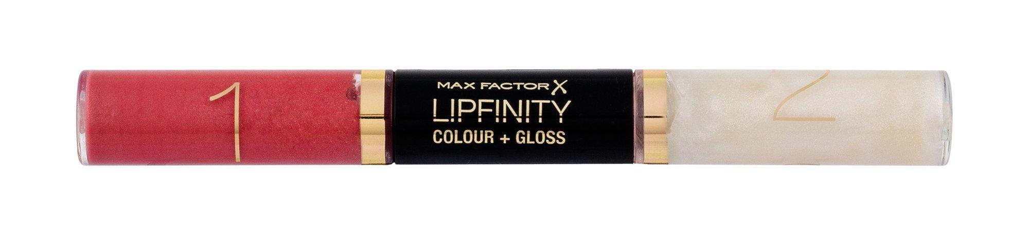 Max Factor Lipfinity Lipstick 2x3ml 610 Constant Coral