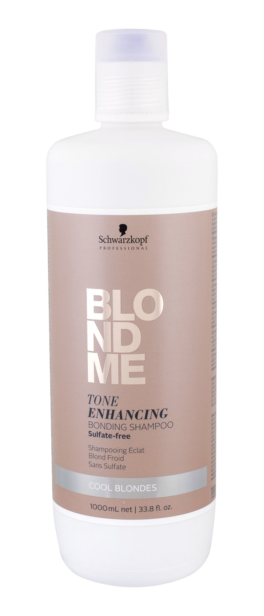 Schwarzkopf Blond Me Shampoo 1000ml Cool Blondes