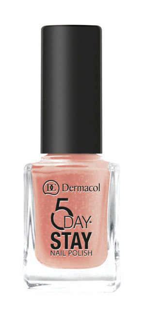 Dermacol 5 Day Stay Nail Polish 11ml 33 Caffeine Free