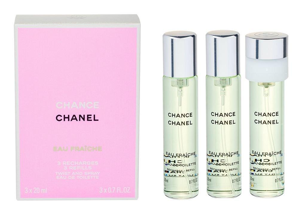 Chanel Chance Eau Fraiche Eau de Toilette 3x20ml