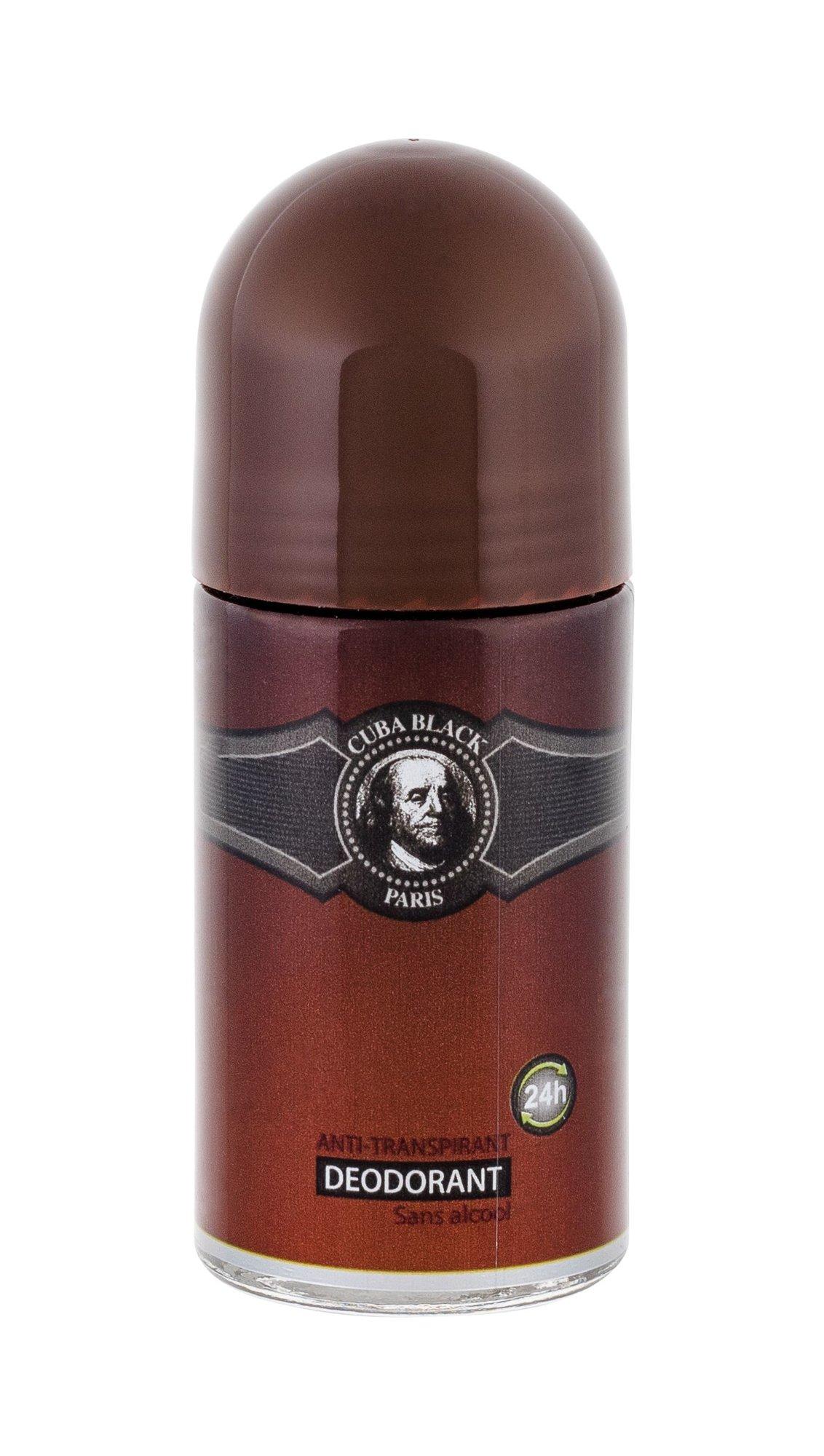 Cuba Black Deodorant 50ml