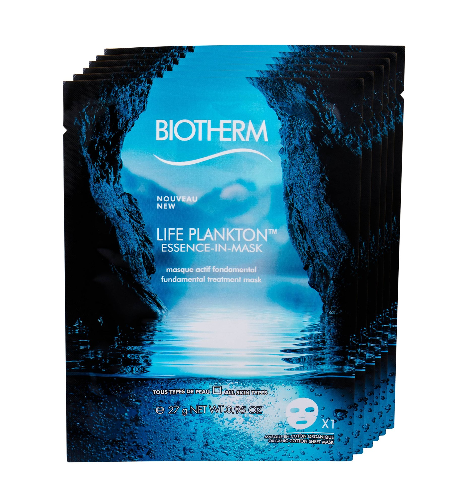 Biotherm Life Plankton Face Mask 6x27ml