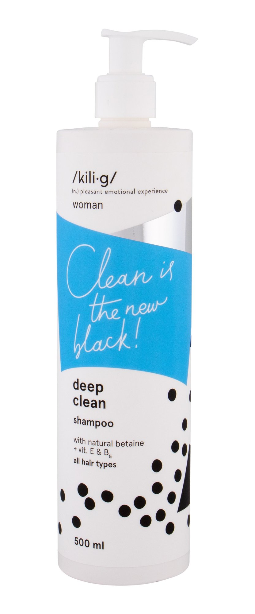 kili·g woman deep clean Shampoo 500ml