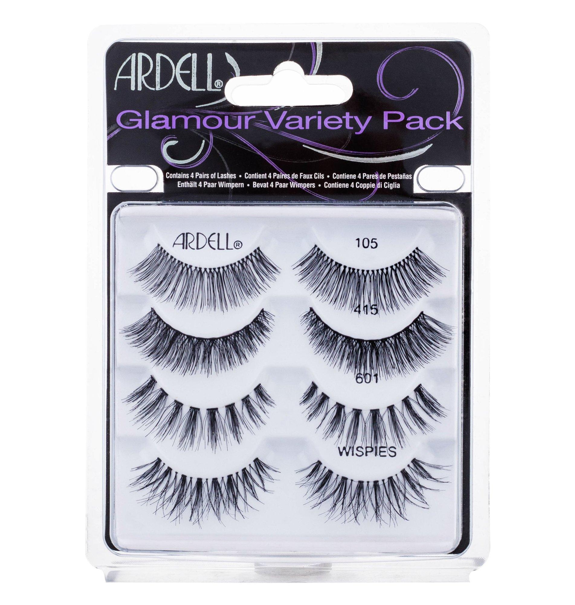 Ardell Glamour False Eyelashes 1ml Black
