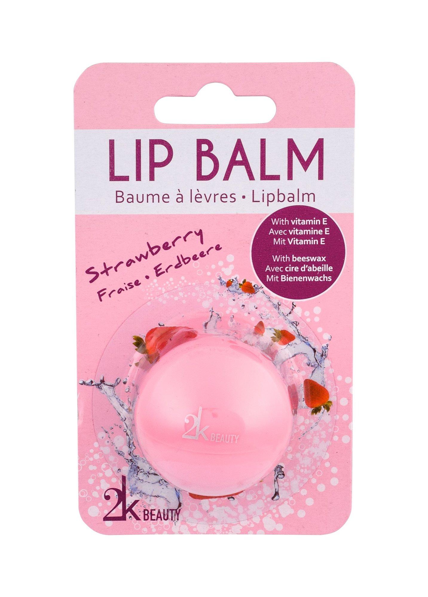 2K Beauty Lip Balm 5ml Strawberry