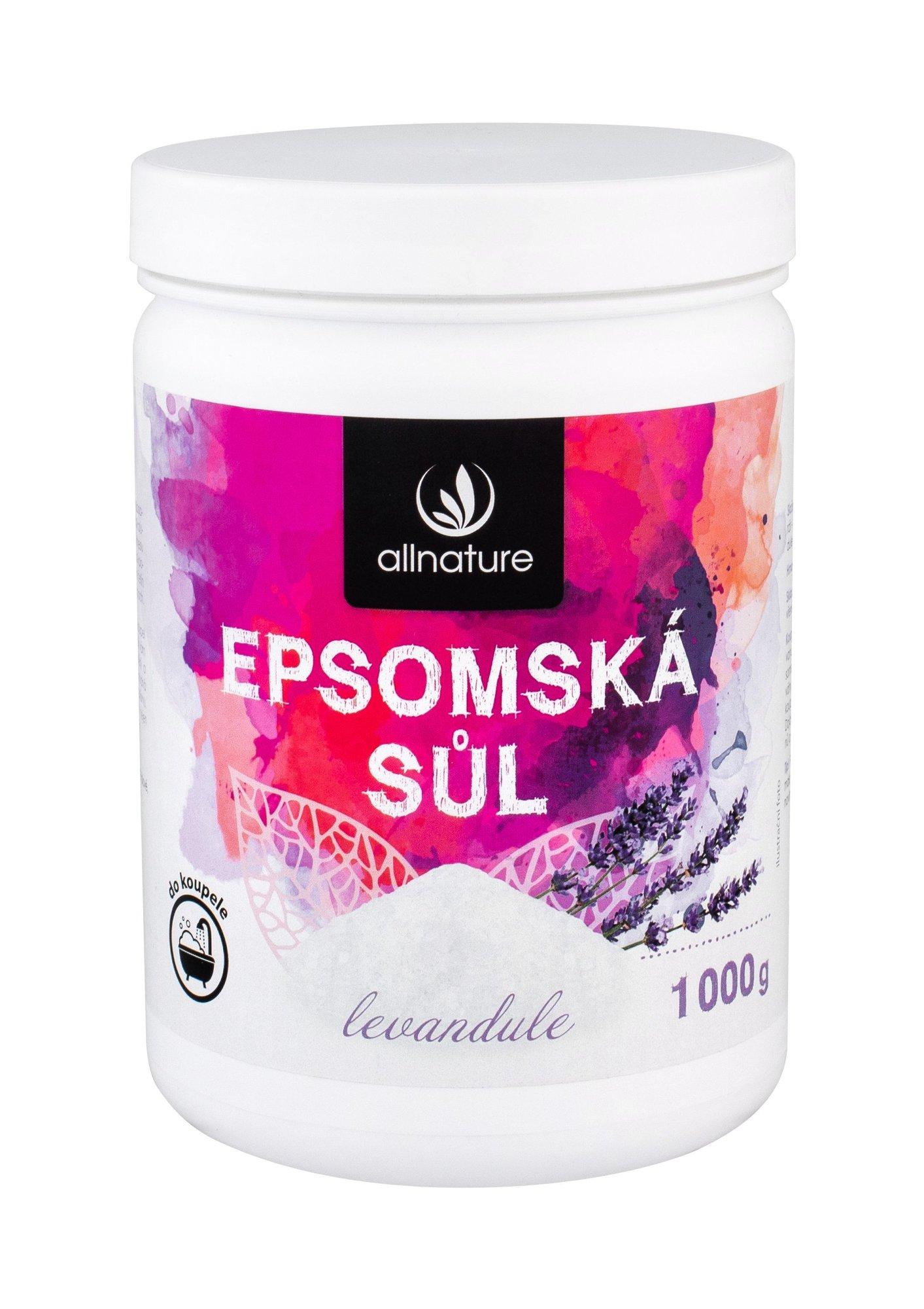 Allnature Epsom Salt Bath Salt 1000ml  Lavender