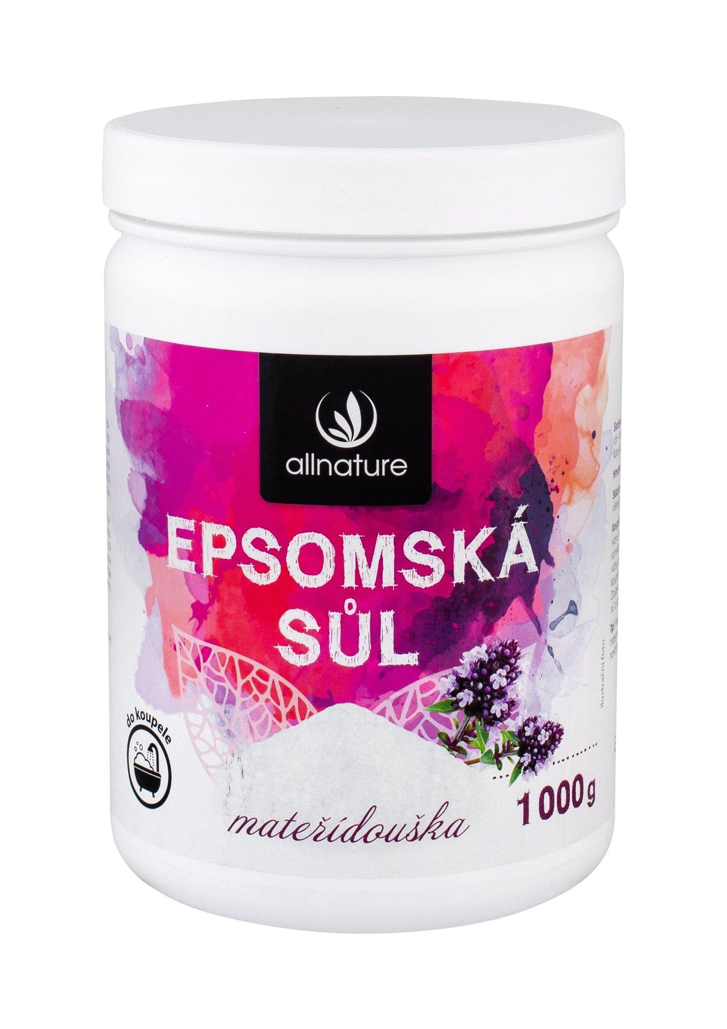 Allnature Epsom Salt Bath Salt 1000ml  Thyme