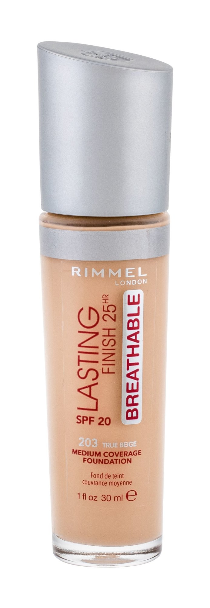 Rimmel London Lasting Finish Makeup 30ml 203 True Beige