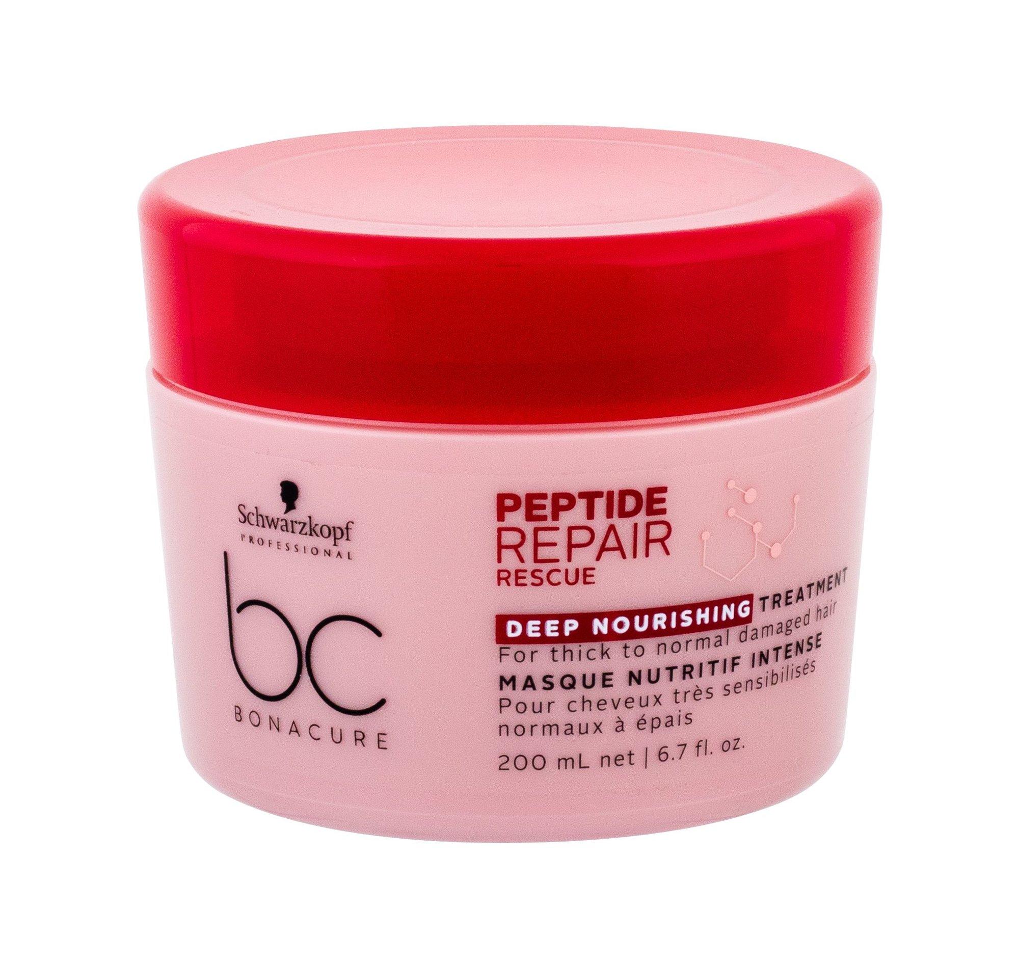 Schwarzkopf BC Bonacure Peptide Repair Rescue Hair Mask 200ml