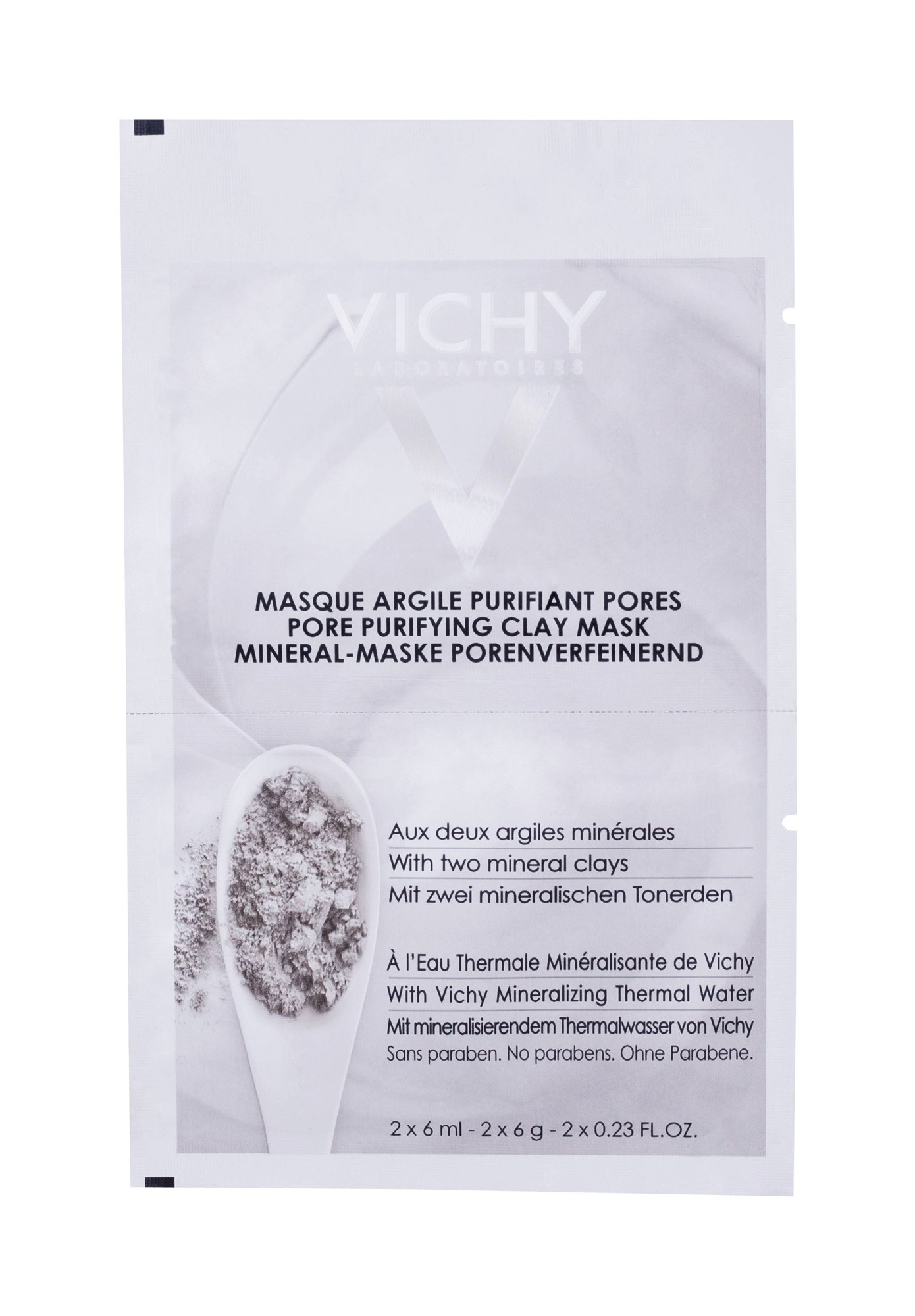 Vichy Pore Purifying Clay Mask Face Mask 2x6ml