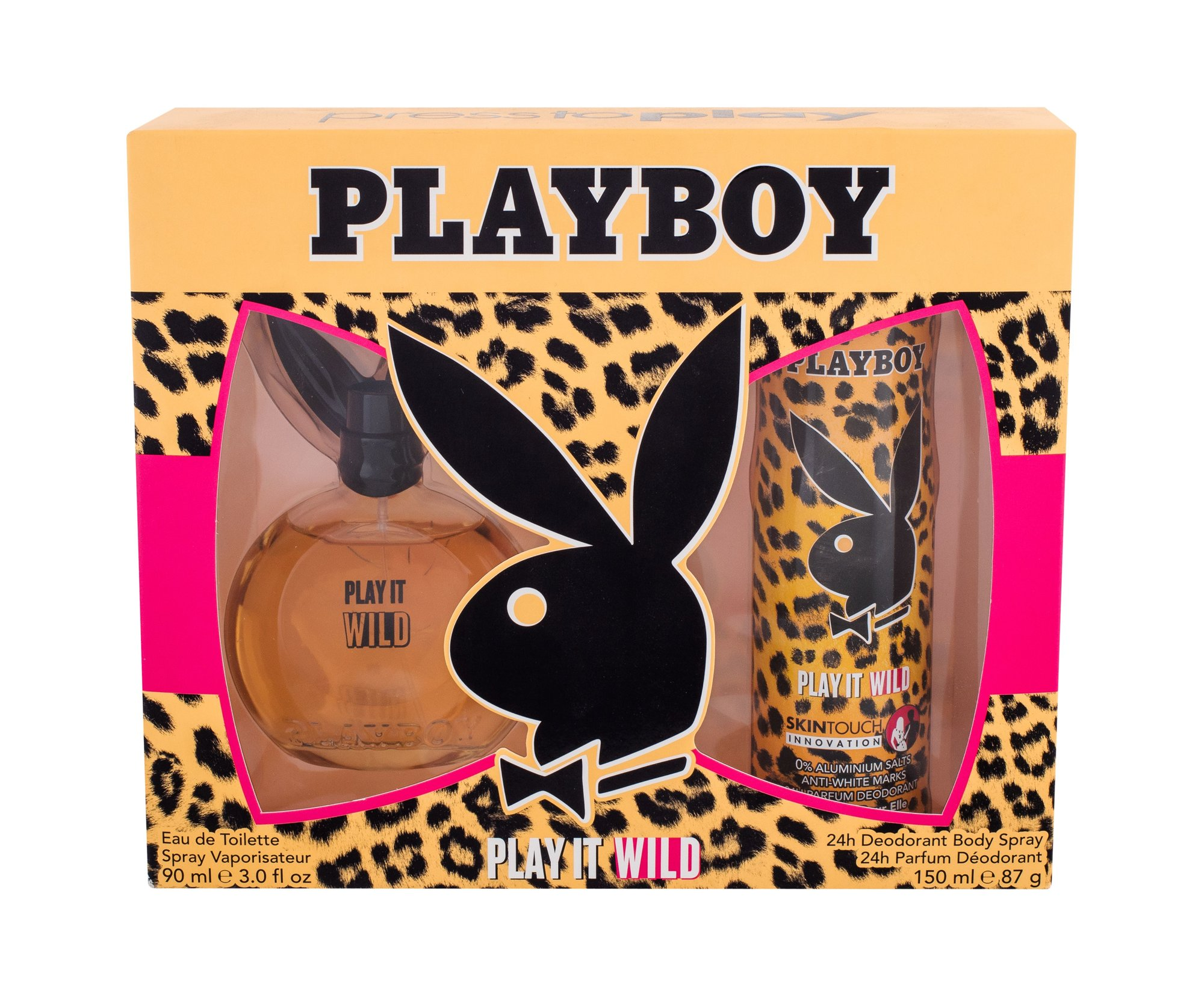 Playboy Play It Wild For Her Eau de Toilette 90ml