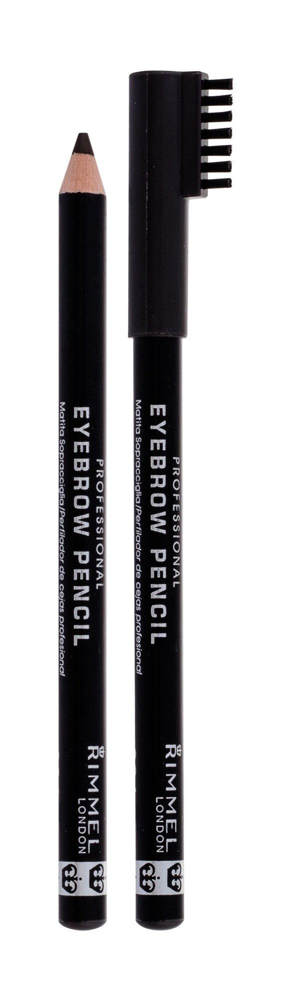 Rimmel London Professional Eyebrow Pencil Eyebrow Pencil 1,4ml 004 Black Brown