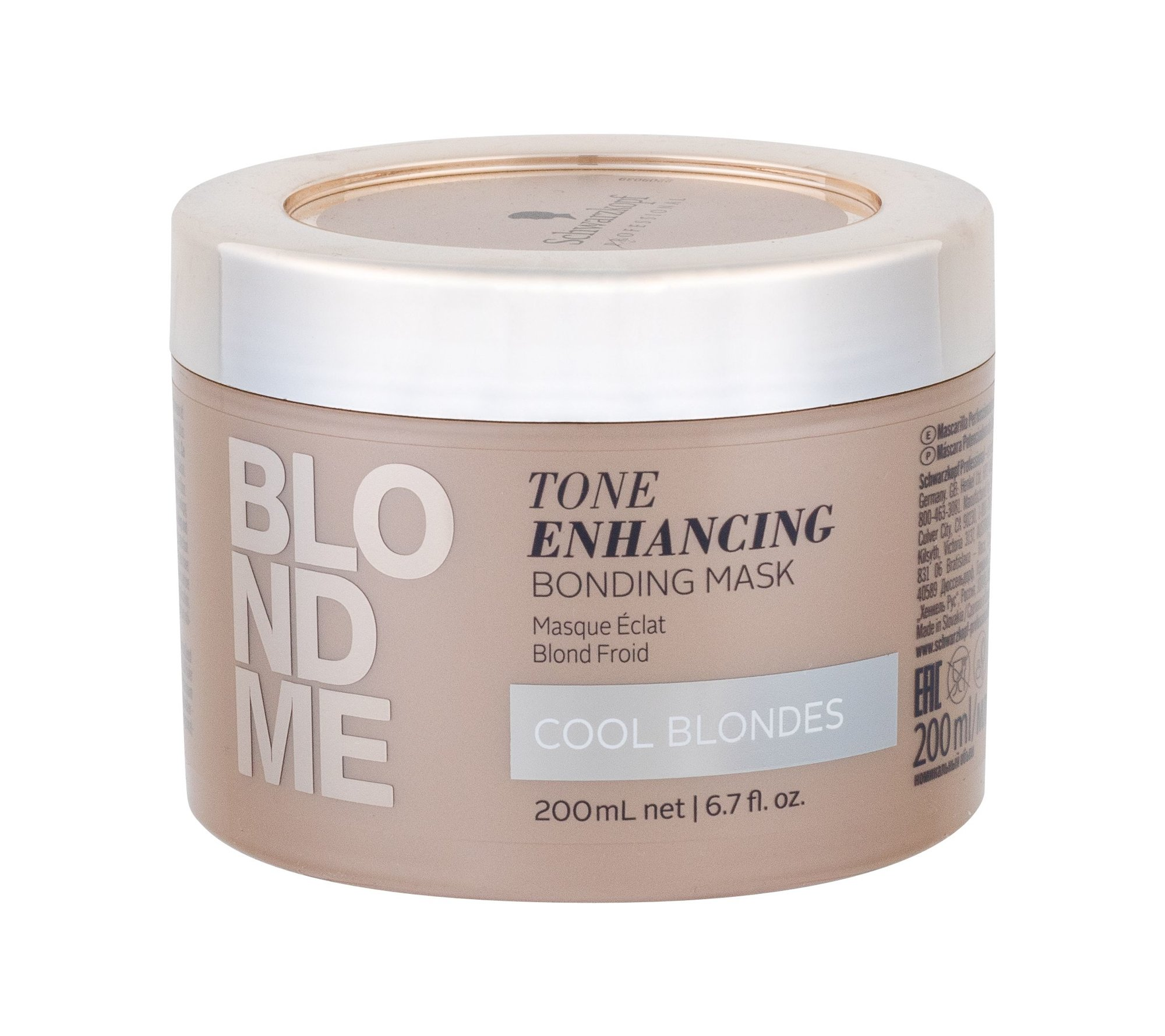 Schwarzkopf Blond Me Hair Mask 200ml Cool Blondes