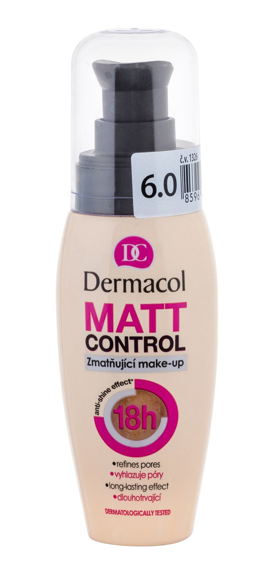 Dermacol Matt Control Makeup 30ml 6.0