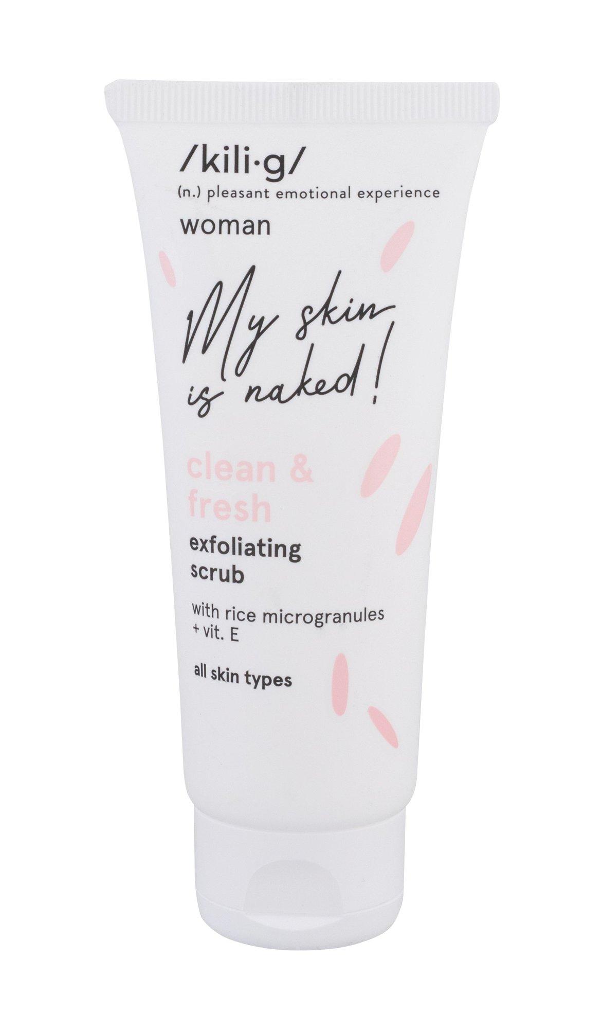 kili·g woman clean & fresh Peeling 75ml
