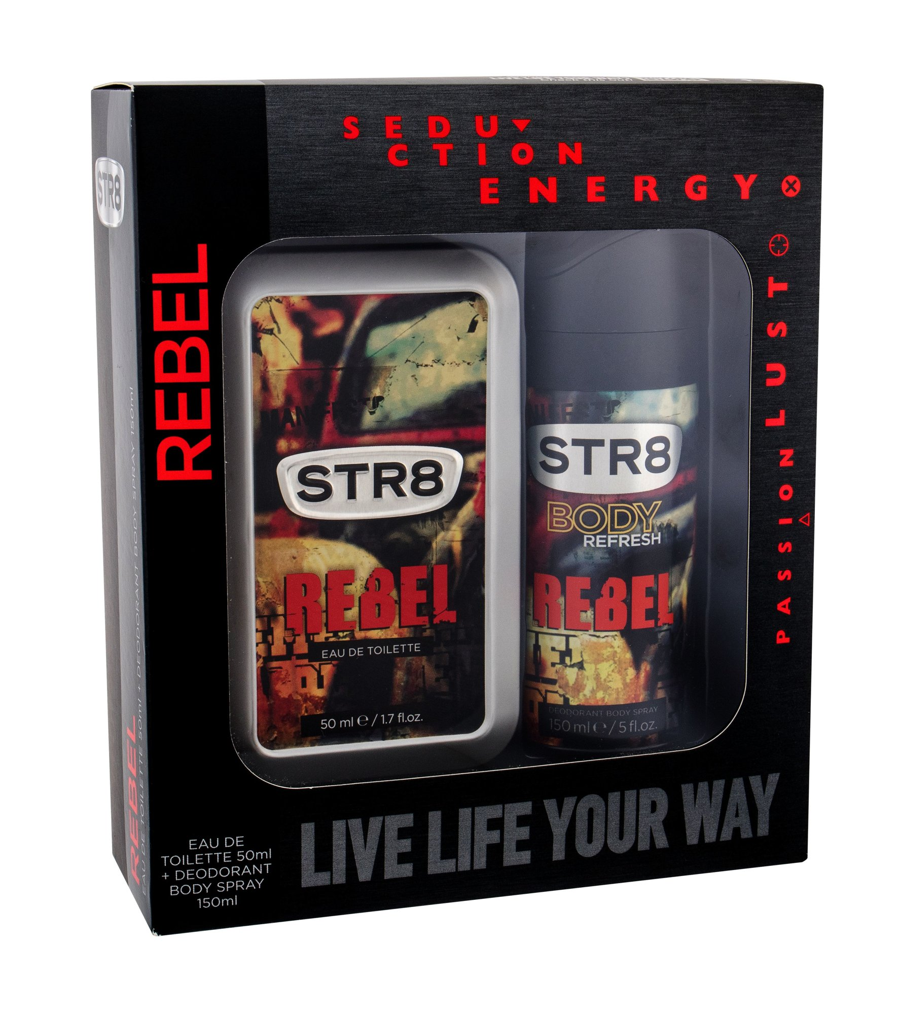 STR8 Rebel Eau de Toilette 50ml