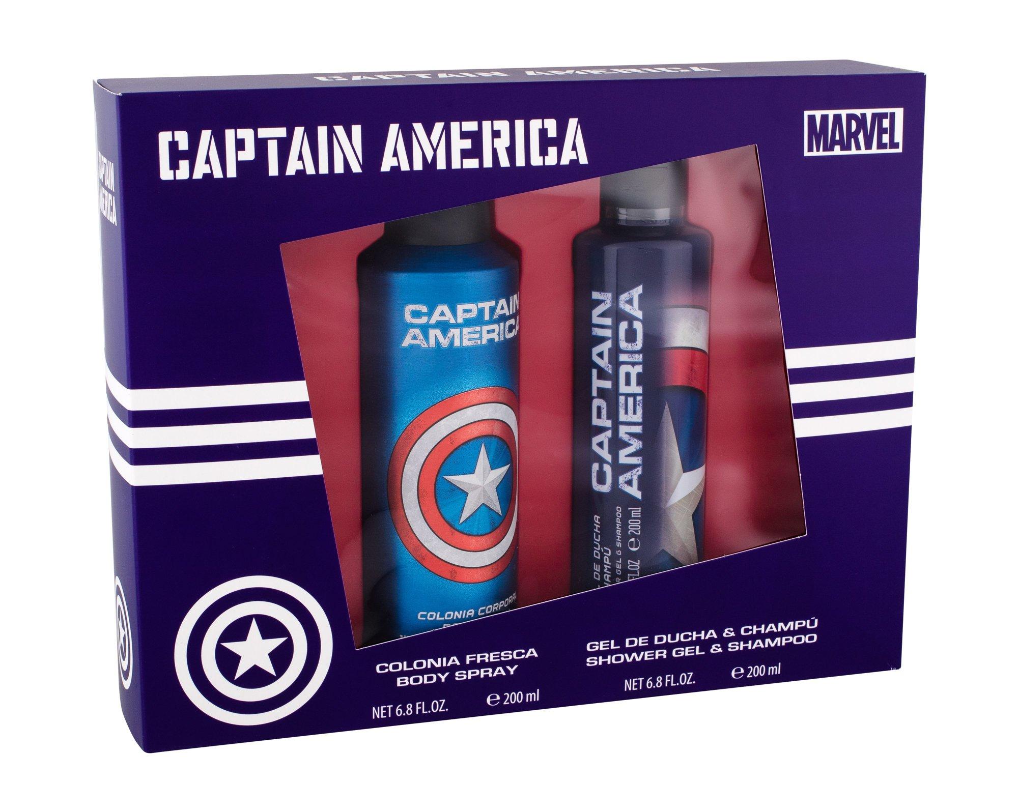 Marvel Captain America Shower Gel 200ml