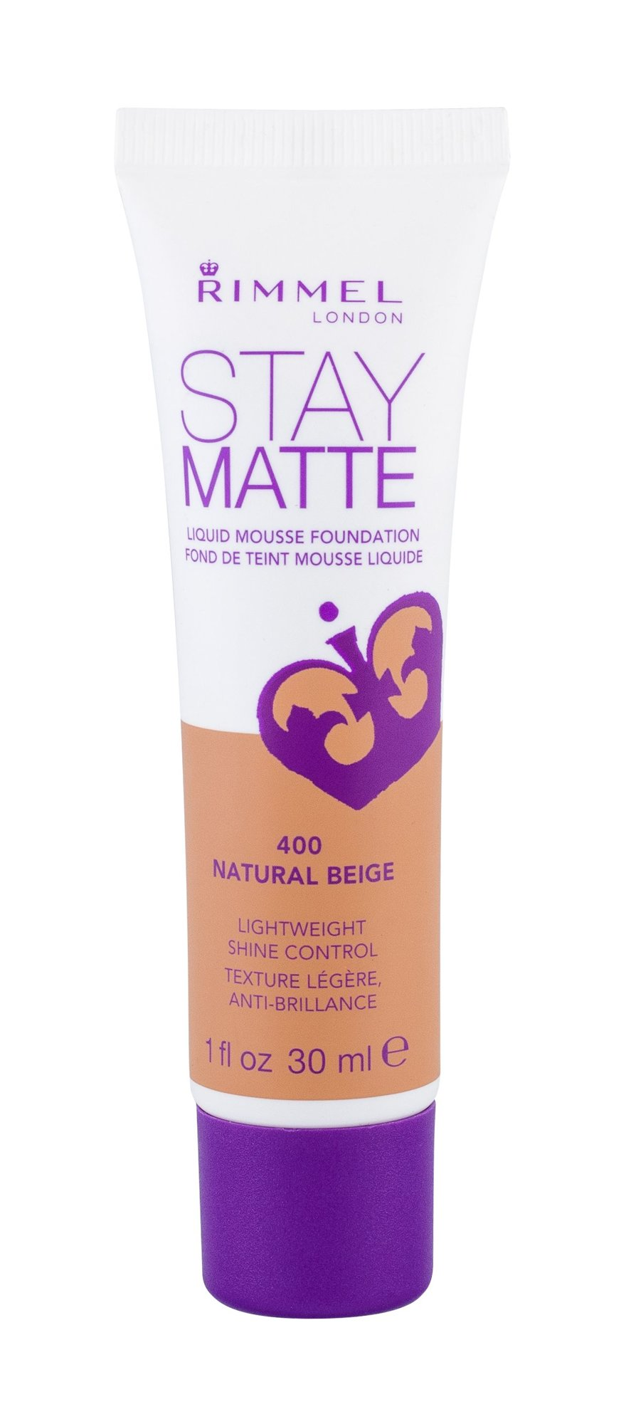 Rimmel London Stay Matte Makeup 30ml 400 Natural Beige